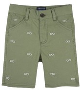Andy & Evan Infant Boy's Schiffli Twill Shorts