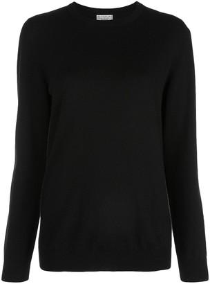 Brunello Cucinelli boxy fit cashmere jumper
