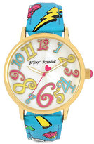Betsey Johnson Oh So Betsey Emoji Watch