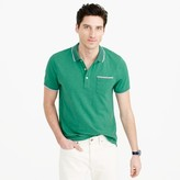 J.Crew Tall textured cotton tipped polo shirt