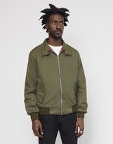 The Idle Man Made In England Vintage Harrington Jacket Green