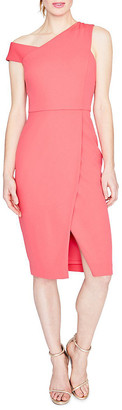 Rachel Roy April Scuba & Crepe Knee-Length Dress