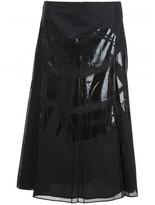 Maison Margiela contrast panel skirt