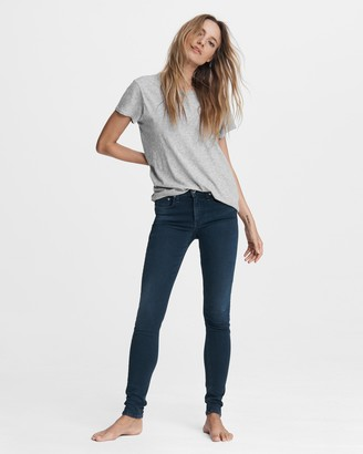 Rag & Bone Cate mid-rise skinny - tiger lily