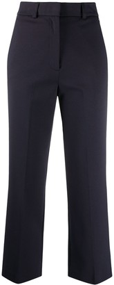 Twin-Set Cropped Straight-Leg Trousers