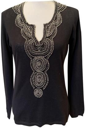 Allude Black Silk Knitwear for Women