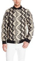 Scotch & Soda Men's Jacquard Bomber Jacket