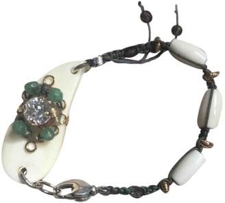 Reminiscence White Metal Bracelets