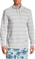 Tommy Bahama Striped Funnel Neck Pullover