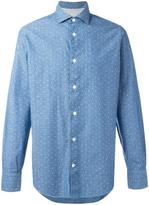 Eleventy polka dots print shirt - men - Cotton - 48