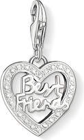 Thomas Sabo Charm club silver and zirconia best friends charm pendant