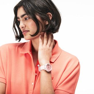Lacoste Ladies Lacoste.12.12 Watch with Pink Silicone Petit Pique Strap