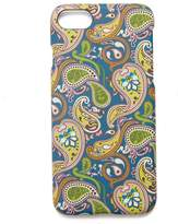 Pretty Green Vintage Paisley Iphone 8 Case