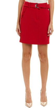 Armani Exchange Belted Mini Skirt