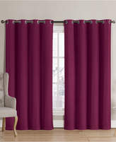 "Victoria Classics Neil Blackout Grommet 52"" x 90"" Curtain Panel"