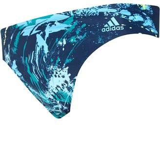 adidas Mens Parley Fitness Swim Trunks Legend Ink