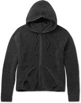 Beams Japan Wool-Blend Fleece Zip-Up Hoodie