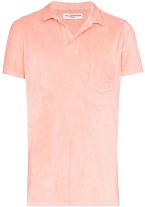 Orlebar Brown Terry towel polo shirt