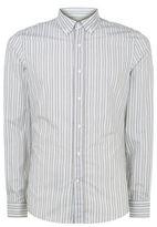 Brunello Cucinelli Striped Leisure Fit Shirt