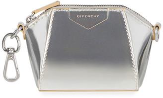Givenchy Antigona Baby Metallic Satchel Bag