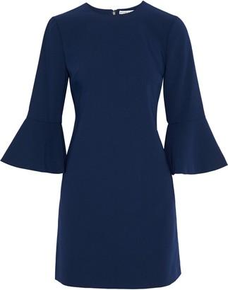 Alice + Olivia Thym Fluted Crepe Mini Dress