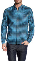 Timberland Long Sleeve Oxford Button Down Slim Fit Shirt