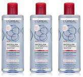 L'Oreal Micellar Cleansing Water Normal to Dry Skin Facial Cleanser & Makeup Remover, 3 count