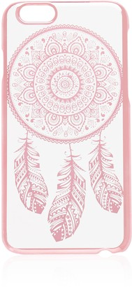 Forever New Dreamcatcher Phone Case (i6) - Clear/ Pink - 00