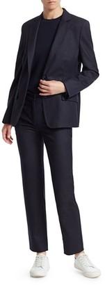 Agnona Superfine Wool Single Breasted Jacket