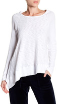 Allen Allen Asymmetrical Long Sleeve Shirt