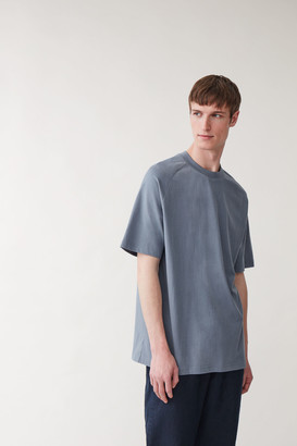 Cos Relaxed Mock-Neck T-Shirt