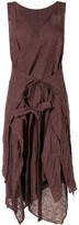 Forme D'Expression layered apron dress