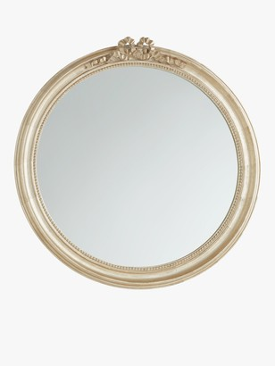 John Lewis & Partners Round Bow Mirror, 80cm, Gold