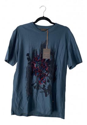 Ermenegildo Zegna Blue Cotton Knitwear & Sweatshirts