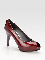 Stuart Weitzman Sierra Patent Leather Pumps
