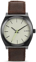 Nixon The Time Teller Watch, 43 x37mm