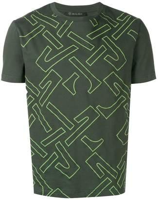 Mr & Mrs Italy geometric print T-shirt