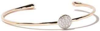 Pomellato 18kt rose gold Sabbia diamond cuff