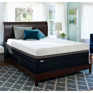 "Sealy Conform Premium 13.5"" Ultra Plush Mattress and Box Spring Mattress Size: Full, Box Spring Height: Low Profile (5"")"