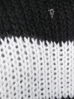 Dondup horizontal striped jumper - women - Acrylic/Polyamide/Mohair - XS