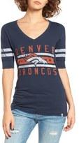 '47 Women's 'Denver Broncos - Flanker Backer' Graphic Tee