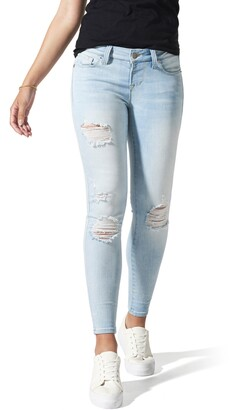 BLANQI Ripped Postpartum/Nursing Skinny Jeans