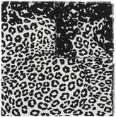 Marc Jacobs leopard print shawl