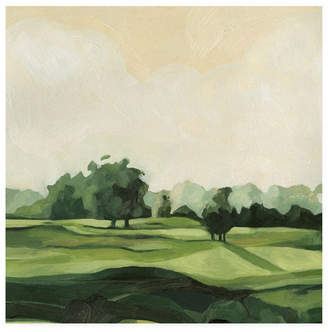 "Emma Scarvey Olive Afternoon Ii Canvas Art - 19.5"" x 26"""