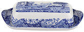 Spode Blue Italian Covered Butter Dish