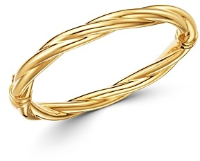 Bloomingdale's Twisted Bangle Bracelet in 14K Yellow Gold - 100% Exclusive