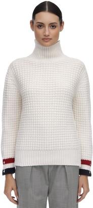 Thom Browne Wool Waffle Knit Sweater