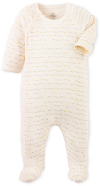 Petit Bateau Babys printed pajamas