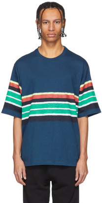 Kenzo Navy Striped T-Shirt