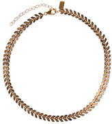 Electric Picks Straight Edge Choker - Rose Gold